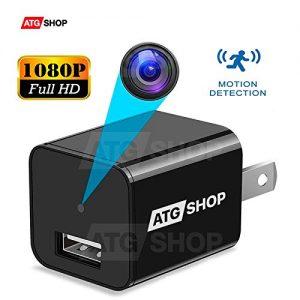 Spy Camera - Hidden Camera - Motion Detection - USB Hidden Camera - Surveillance Camera - Mini spy Camera -USB Camera - Best Spy Camera Charger - Hidden...