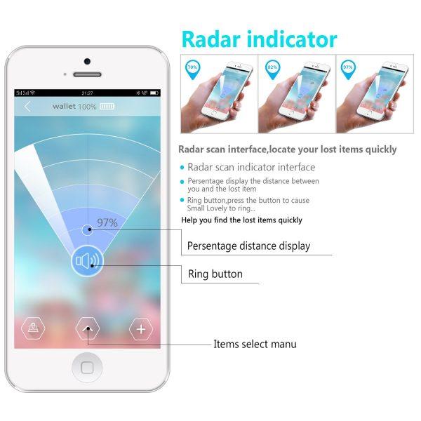 E-Byta 2PCS-Bluetooth key finder, bluetooth phone tracking device,Phone/Key/Wallet/Item Finder